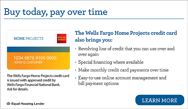 Wells Fargo At-Home Financing